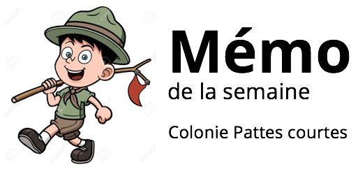 Castors : Réunion du 15 octobre :)
