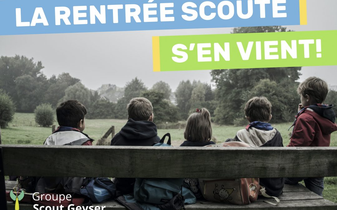 Rentrée scoute 2020