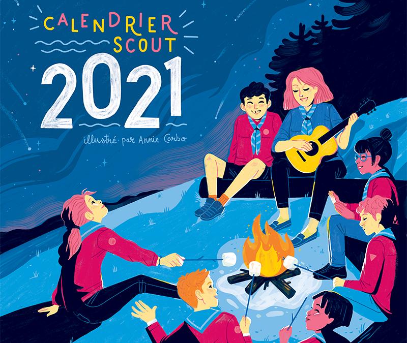 Blitz de vente! Calendriers scouts 2021!